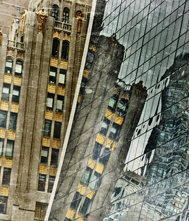 reflections on 9 west, 57th st | by MouradianR :)