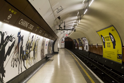 Charing Cross Bakerloo Line Platform