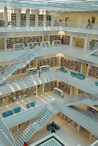 Stuttgart library Interior 3 | by bobarcpics