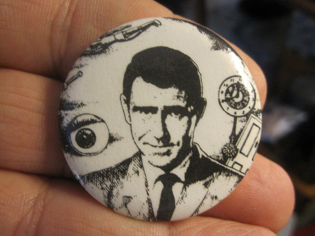 Rod Serling - Twilight Zone Button | by Tobyotter