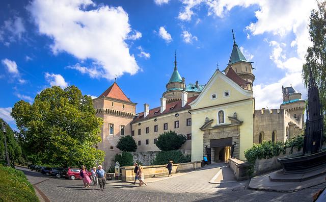 Bojnice Castle - Front Gate