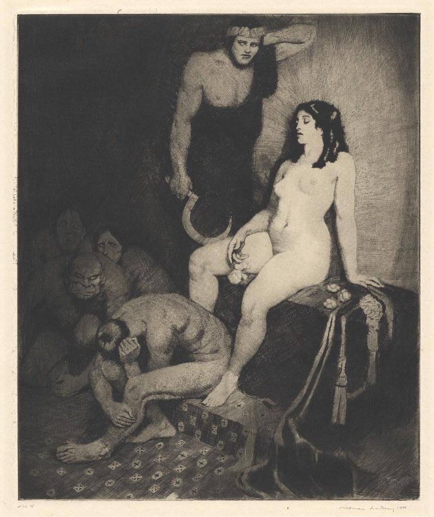 Norman Lindsay - Enigma, 1919