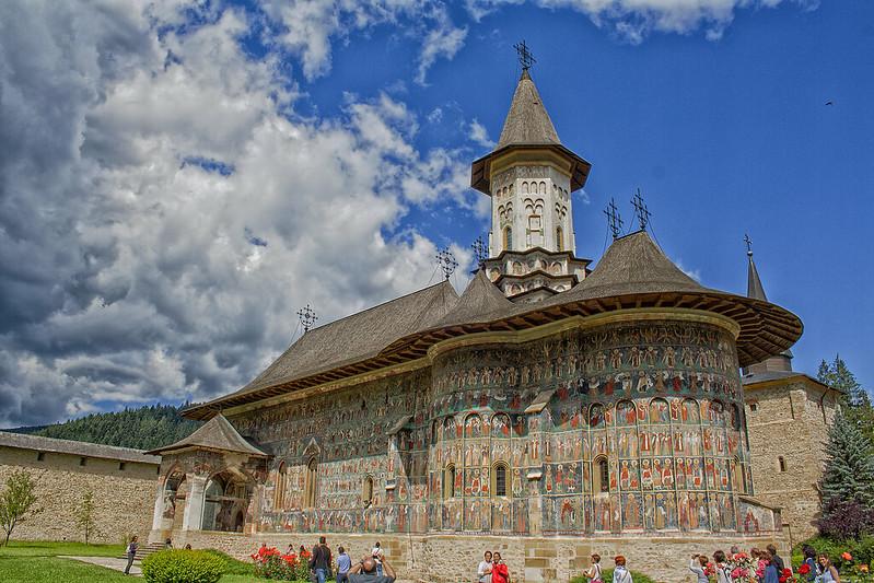Monasterio de Sucevita (Rumanía)