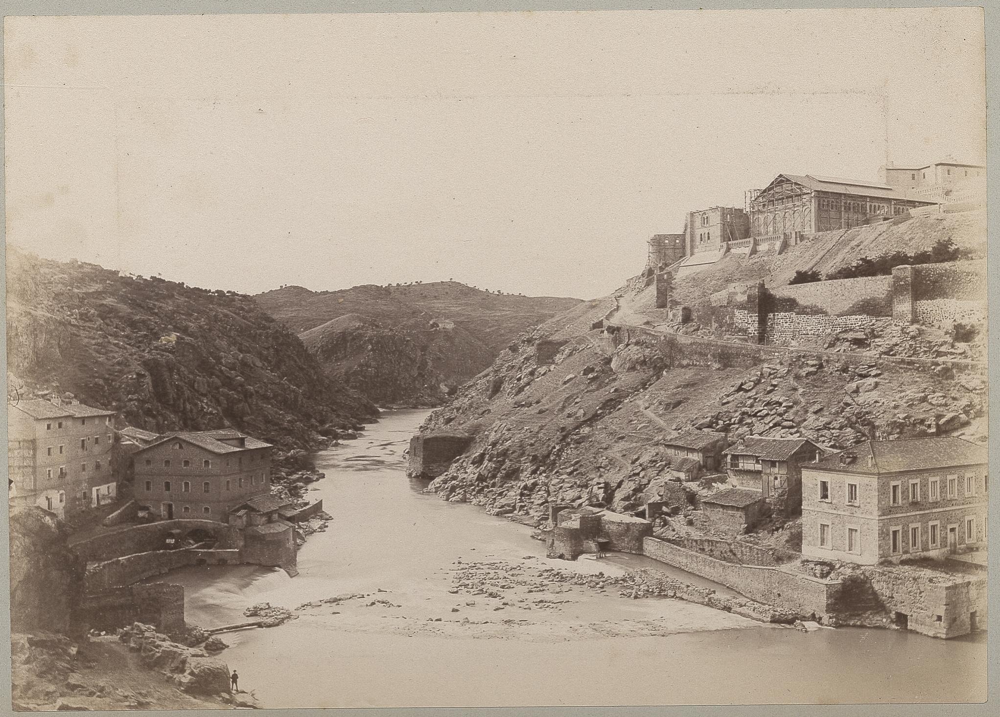 Río Tajo y Turbinas de Vargas en 1886 © Archives départementales de l'Aude