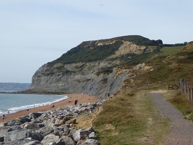 Golden Cap from the east