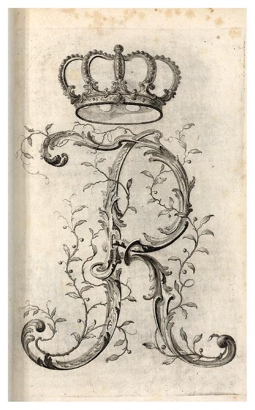 008-Letra R-Alphabet orné 1760 -BNF-Gallica