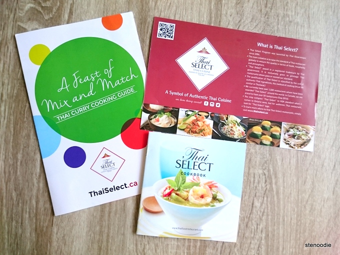 Thai Select cookbooks
