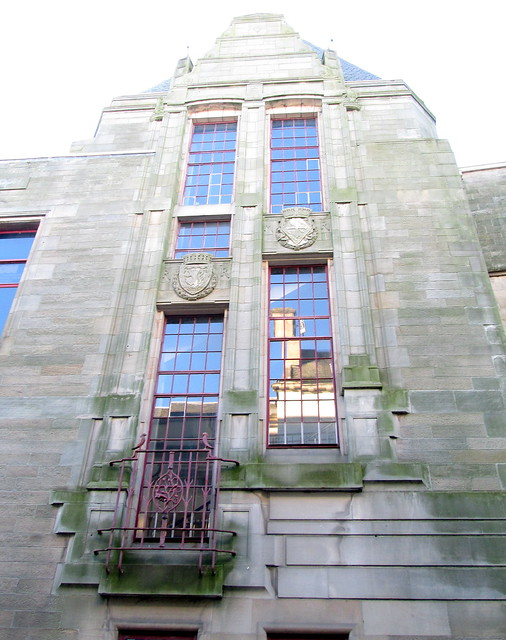 Dunfermline, Carnegie Library Detail