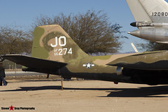 55-4274 JO - 376 - USAF - Martin B-57E Canberra - Pima Air and Space Museum, Tucson, Arizona - 141226 - Steven Gray - IMG_8591