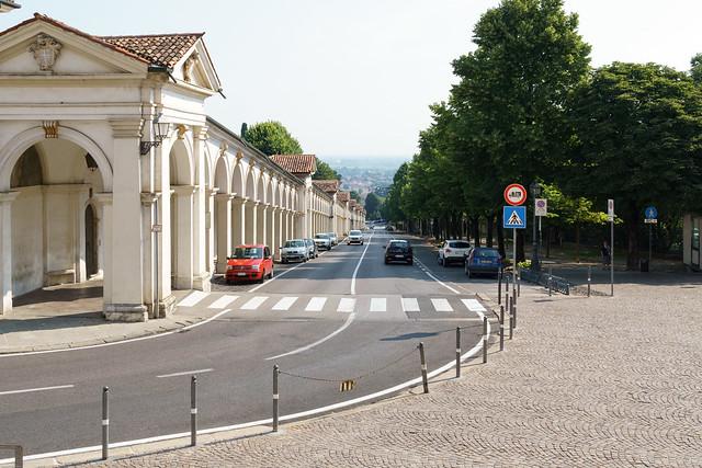 Blick vom Monte Berico auf Vicenza