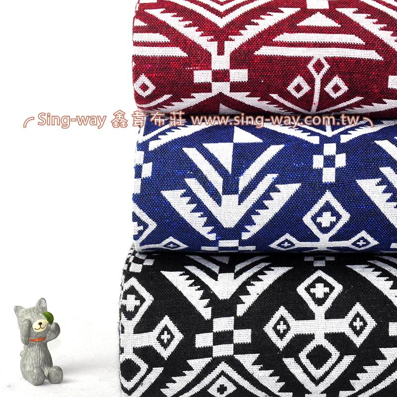 瑪雅緹花 民族風 原住民 雲南麗江民族 裝飾服裝布料 CE890053