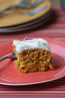 Kabocha Cake with Honey-Cream Cheese Frosting 2 | by jess.t
