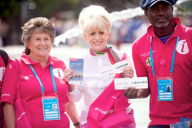 Dame Barbara Windsor Trafalgar Square Visit