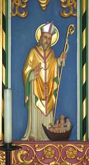 reredos: St Nicholas