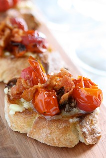 Saint Andre - Bacon and Tomato Crostinis 001 | by Hungry Housewife