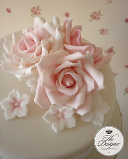 Roses close up | by The Designer Cake Company