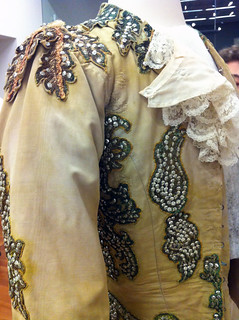 Close up of detail on jacket designed by Oliver Messel and worn by Rudolf Nureyev as Prince Florimund in Act III of The Sleeping Beauty, 1962  ©Sarah Bailey Hogarty 2012 | by Royal Opera House Covent Garden