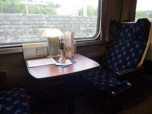 Lounge Car on the Fort William Sleeper | by Bods