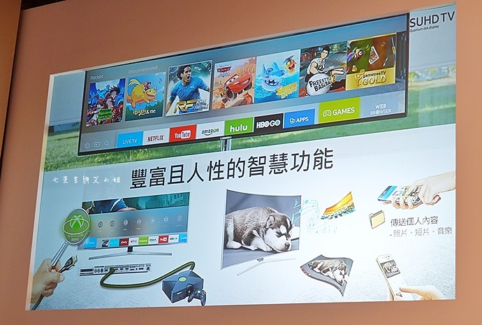 7 2016 三星 SAMSUNG SUHD 超4K電視
