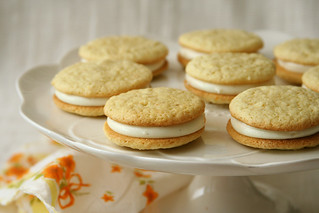 creamsicle whoopie pies 5 | by crumblycookie