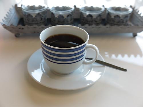 Tasse Kaffee bei Radsport Laurenz in Rheine