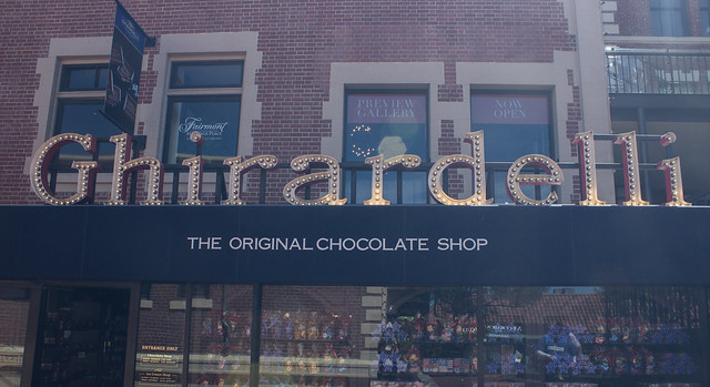 Ghirardelli's chocolate shop San Francisco