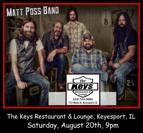 Matt Poss Band 8-20-16
