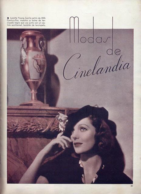 Cinelandia, Tomo XI Nº 1, Janeiro 1937 - 35