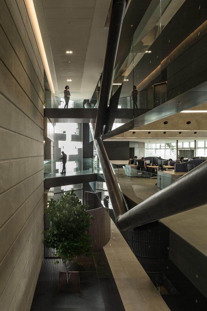 Офисные помещения в башне Torre Reforma