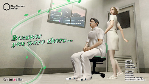 PlayStation Home: Nurse | by PlayStation.Blog