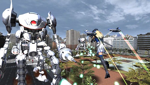 Earth Defense Force 2017 Portable for PS Vita - Aerial Attack | by PlayStation.Blog