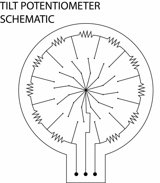 TILT POTENTIOMETER SCHEMATIC