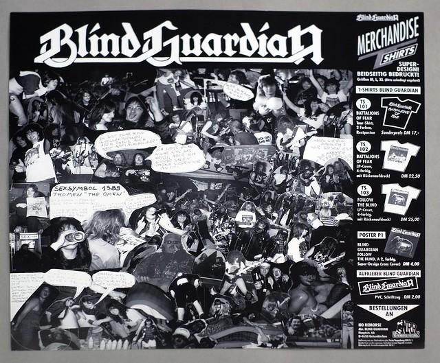 "BLIND GUARDIAN FOLLOW THE BLIND 12"" LP VINYL"