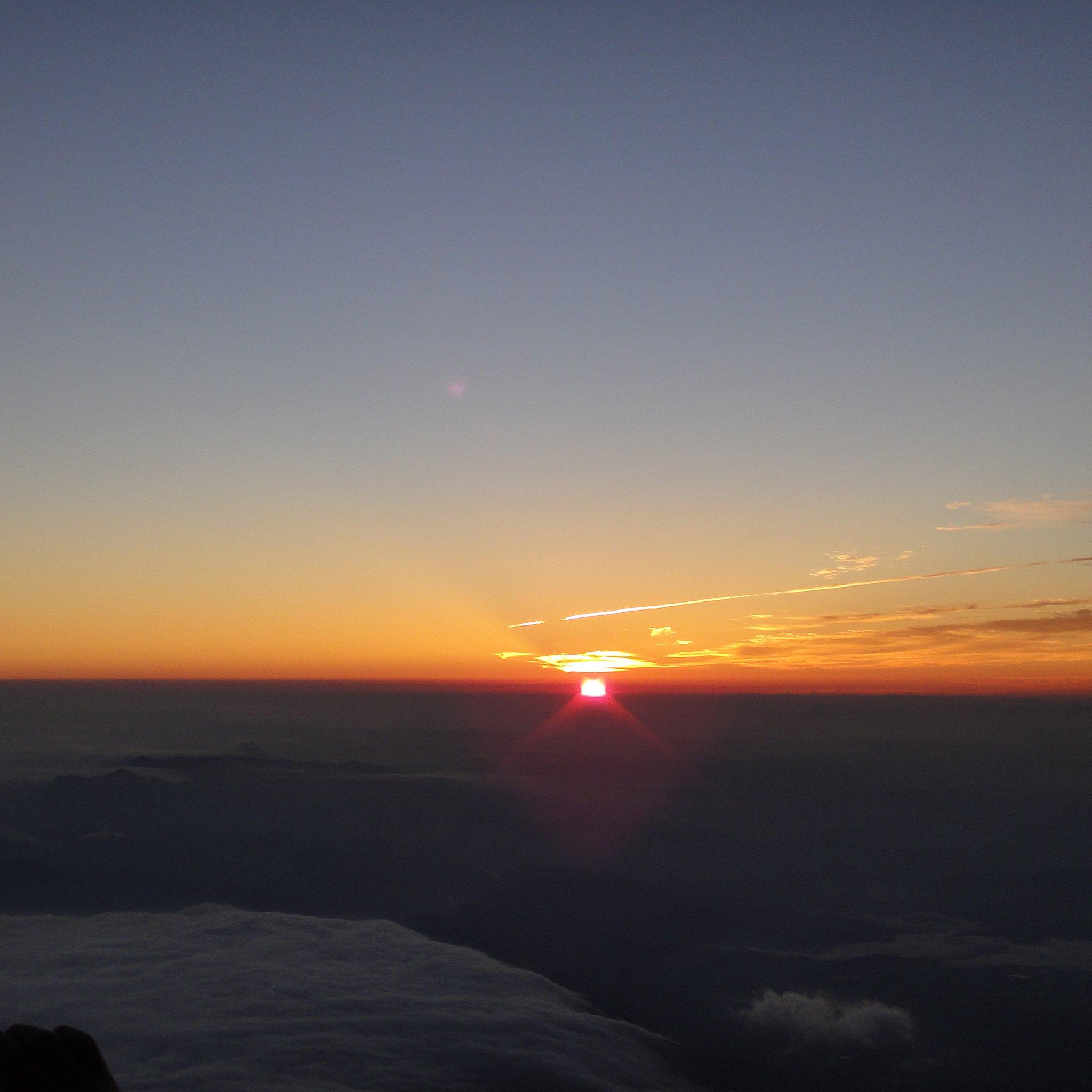 Mount Fuji - Soluppgång