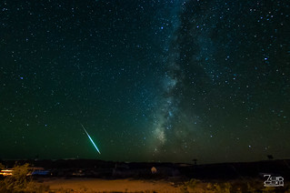 Falling star at the ghost town | by Sergio Garcia Rill
