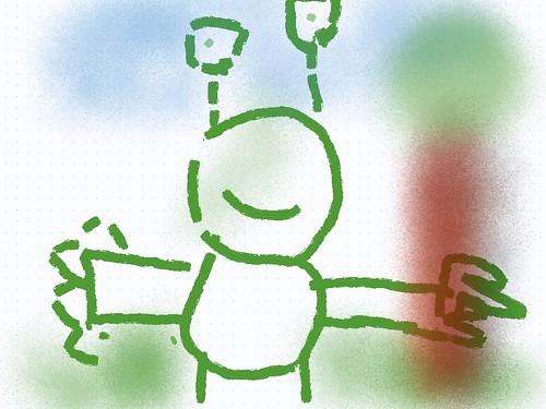 Y1 Aliens Sketches