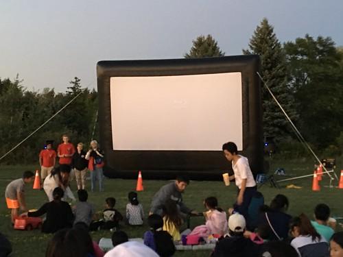 08/31/16 Movie Night in Milliken Park