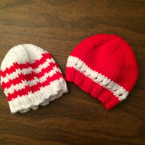 H is for Holiday hats for human newborns