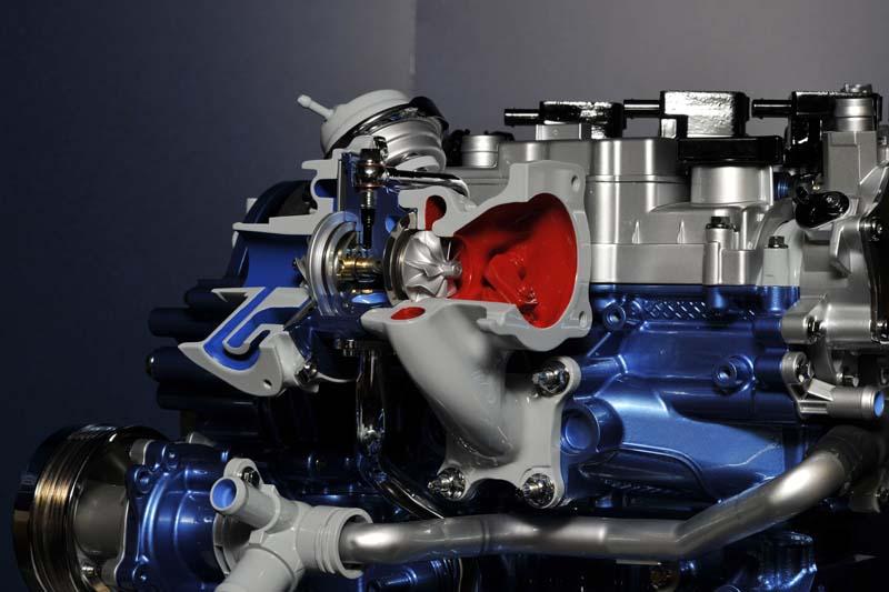 Turbocharger trên động cơ Ford Ecoboost 1.0