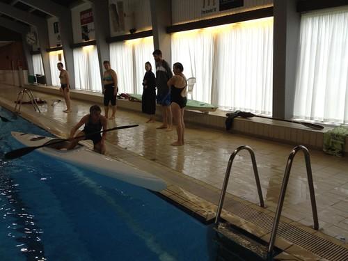 Træning i Svømmehallen
