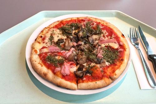 Pizza Proscuitto Funghi