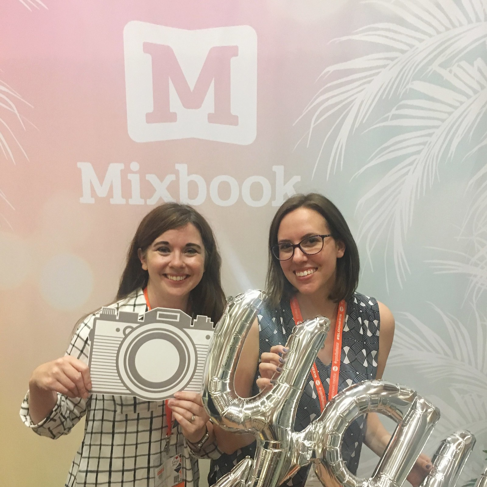 Mixbook both at BlogHer