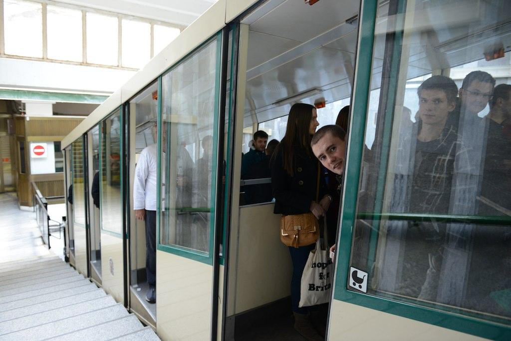 Funicular to Petrin