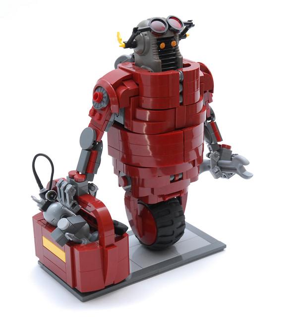 The Mechanic - Robot mécanicien Galidor