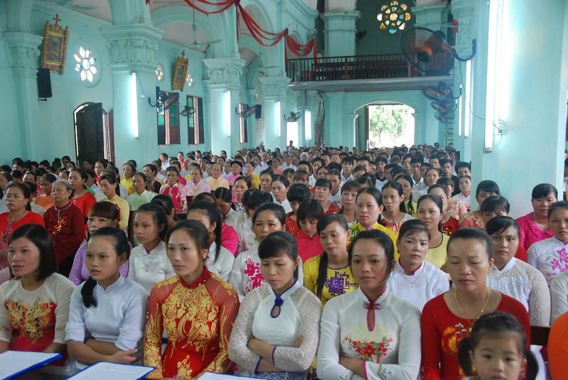 Hội La Vang Xứ Lưu Xá Mừng Lễ Quan Thầy