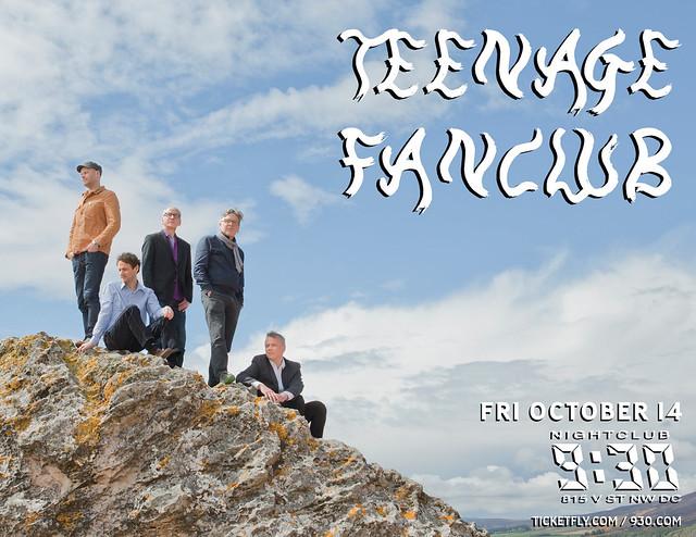 TeenageFanclub_Flyer
