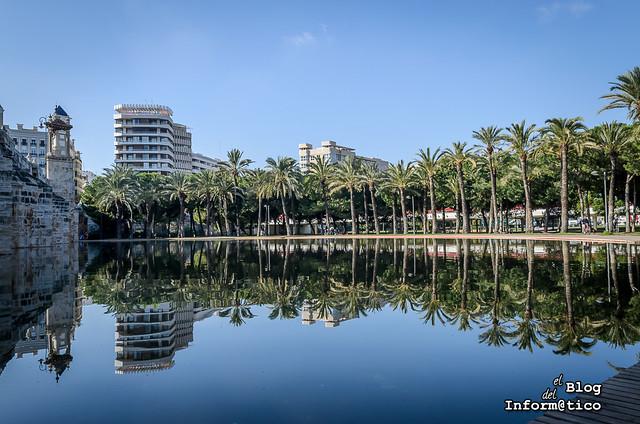 jardines del turia valencia lago
