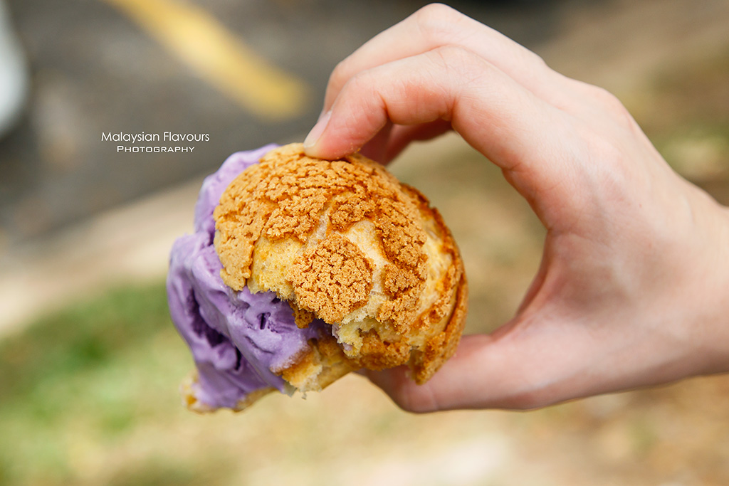 Hokkaido Ice Cream Puff Malaysia