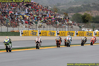 Dominique Agerther Gino Rea Marc Marquez Simone Corsi Valencia Moto2 Race 2012 | by stevie.english