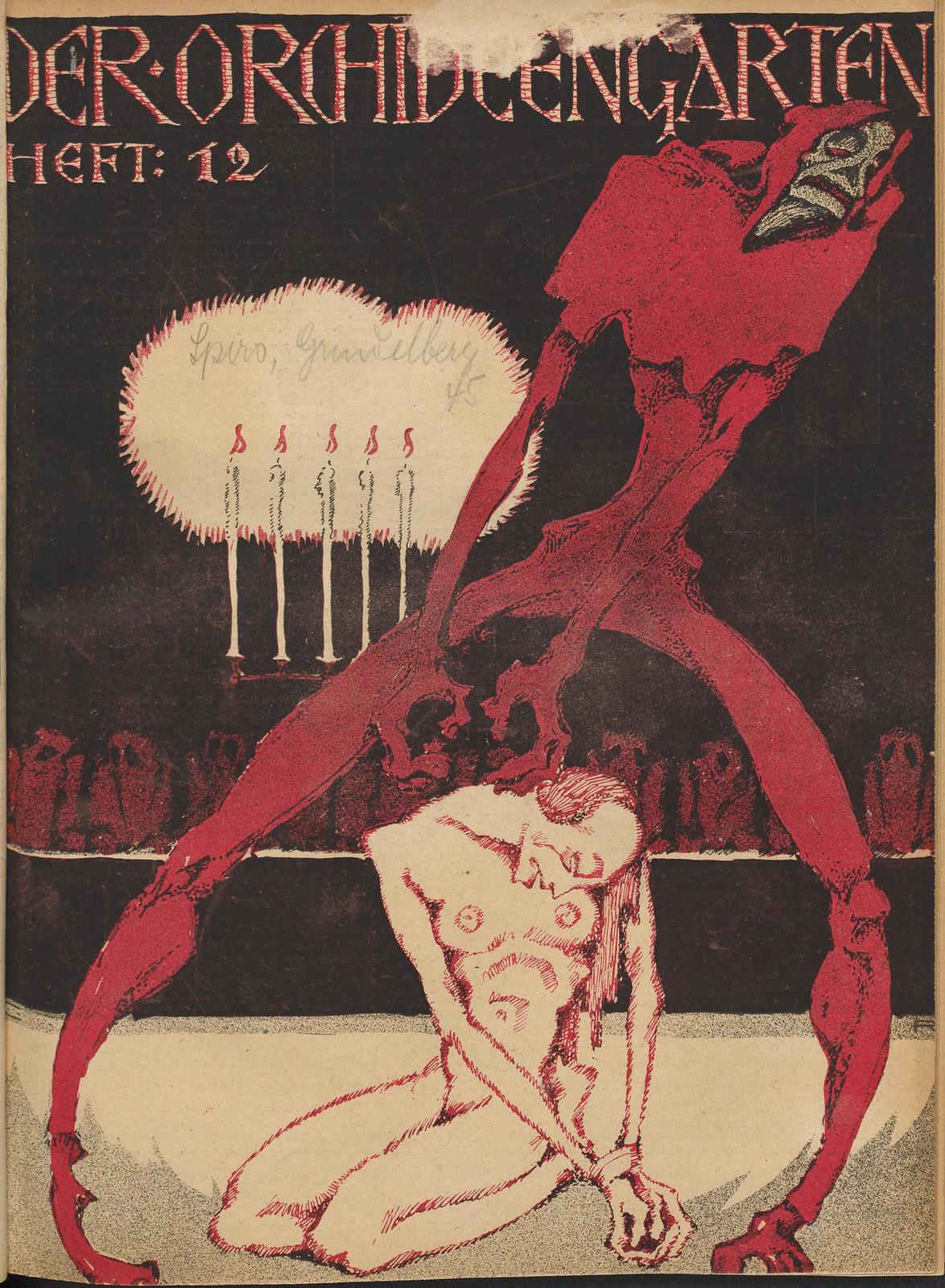 Der Orchideengarten - 1920 (Cover 12)